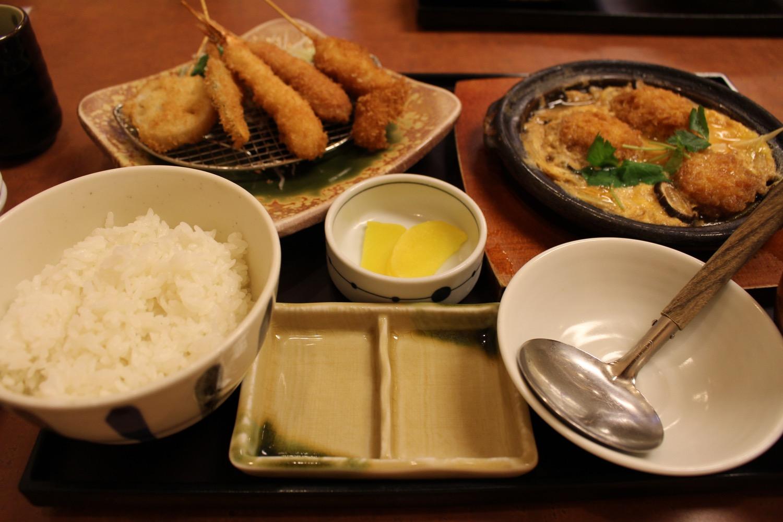 魚がし定食