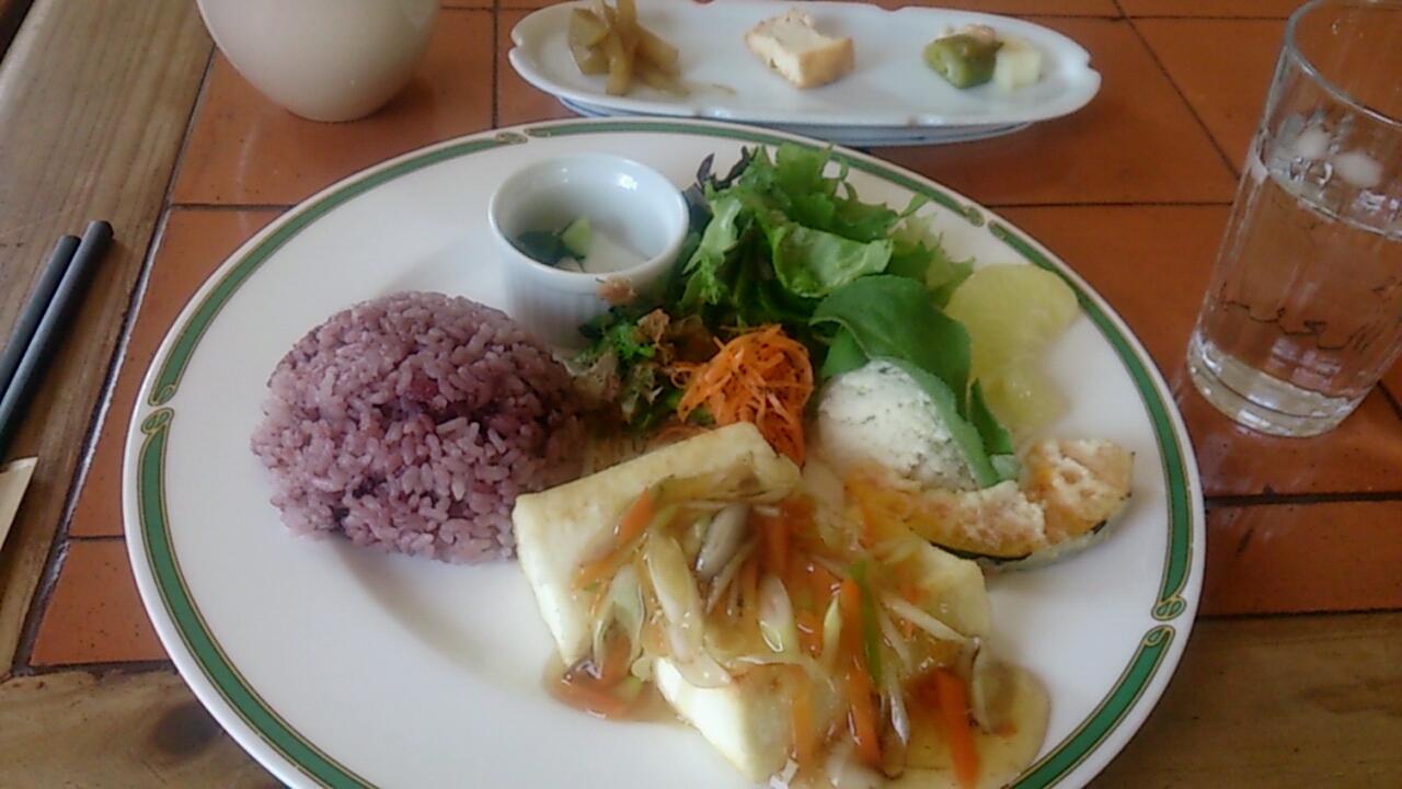 豆腐ステーキランチ