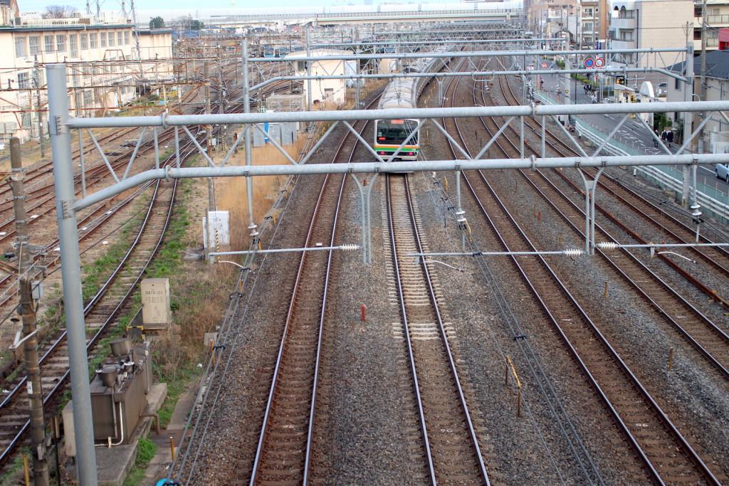 南浦和陸橋から上野東京ライン