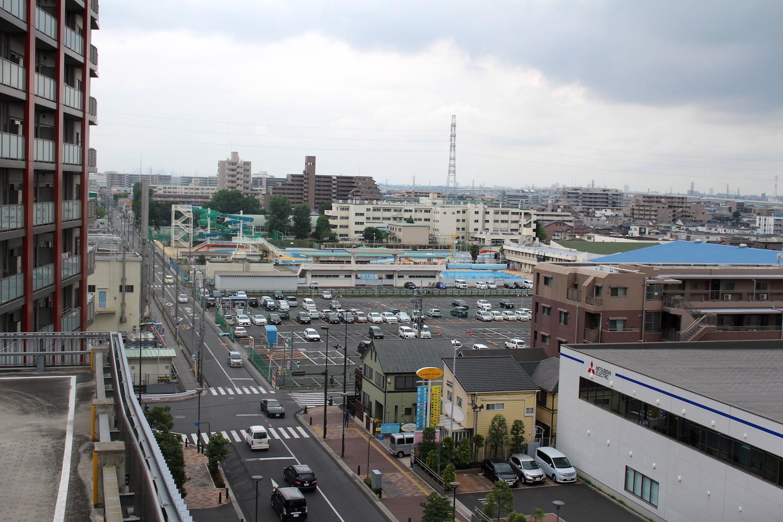 ナリアからの武蔵浦和の風景(西側)