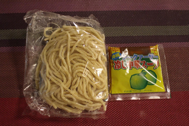 チー麺と冷やし中華スープ