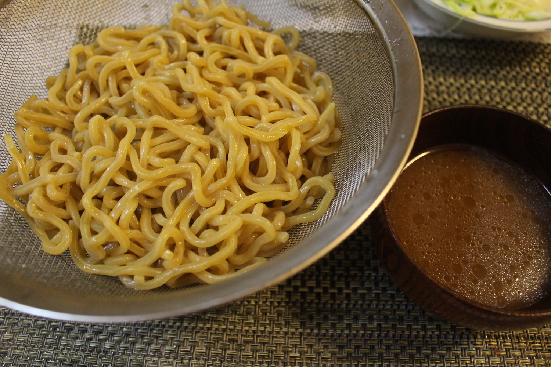 強麺のつけ麺