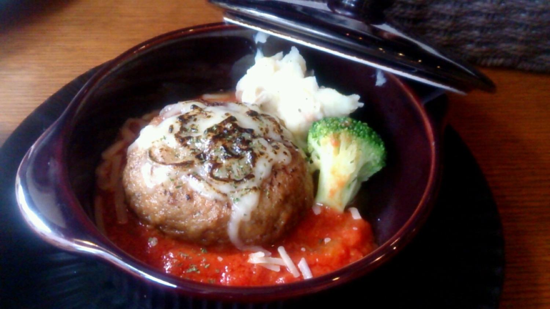 トマトハンバーグ