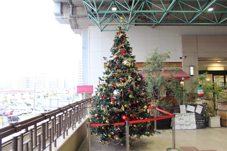 マーレのクリスマスツリー2015