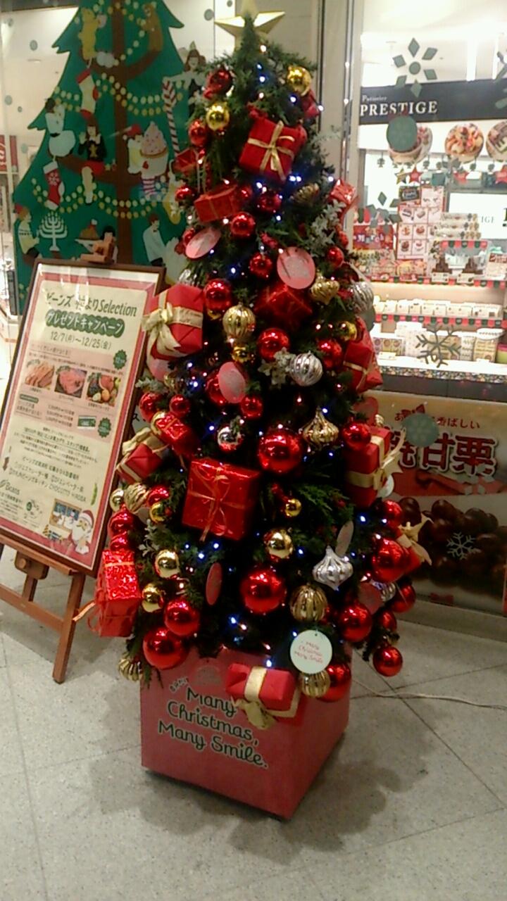 ビーンズのクリスマスツリー2015
