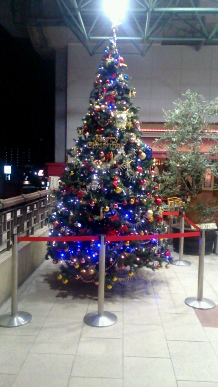 マーレのクリスマスツリー2015夜バージョン