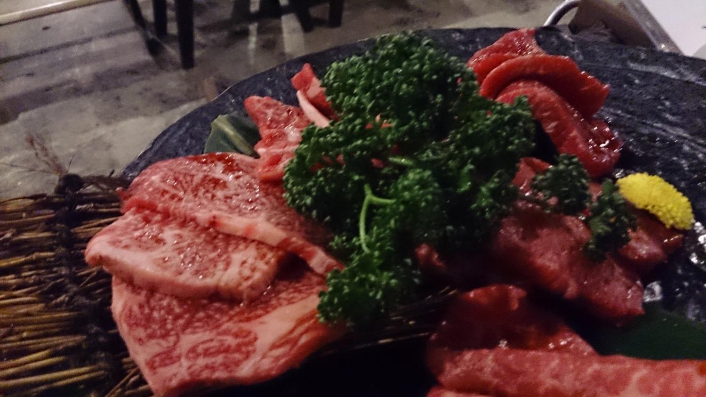 お肉の盛り合わせ1
