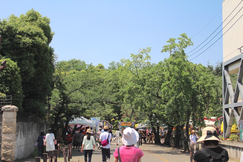 与野公園入口