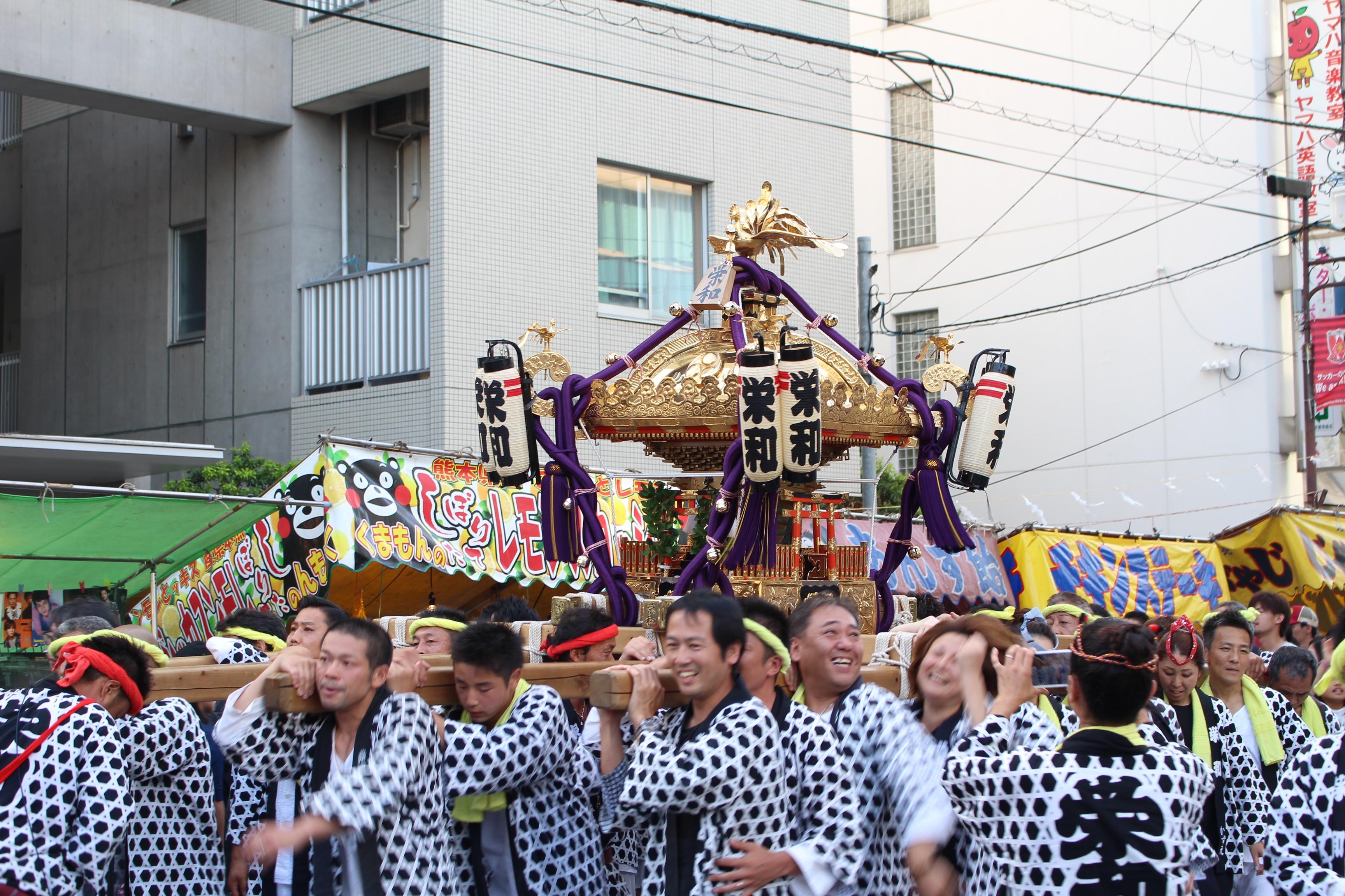 栄和のお神輿