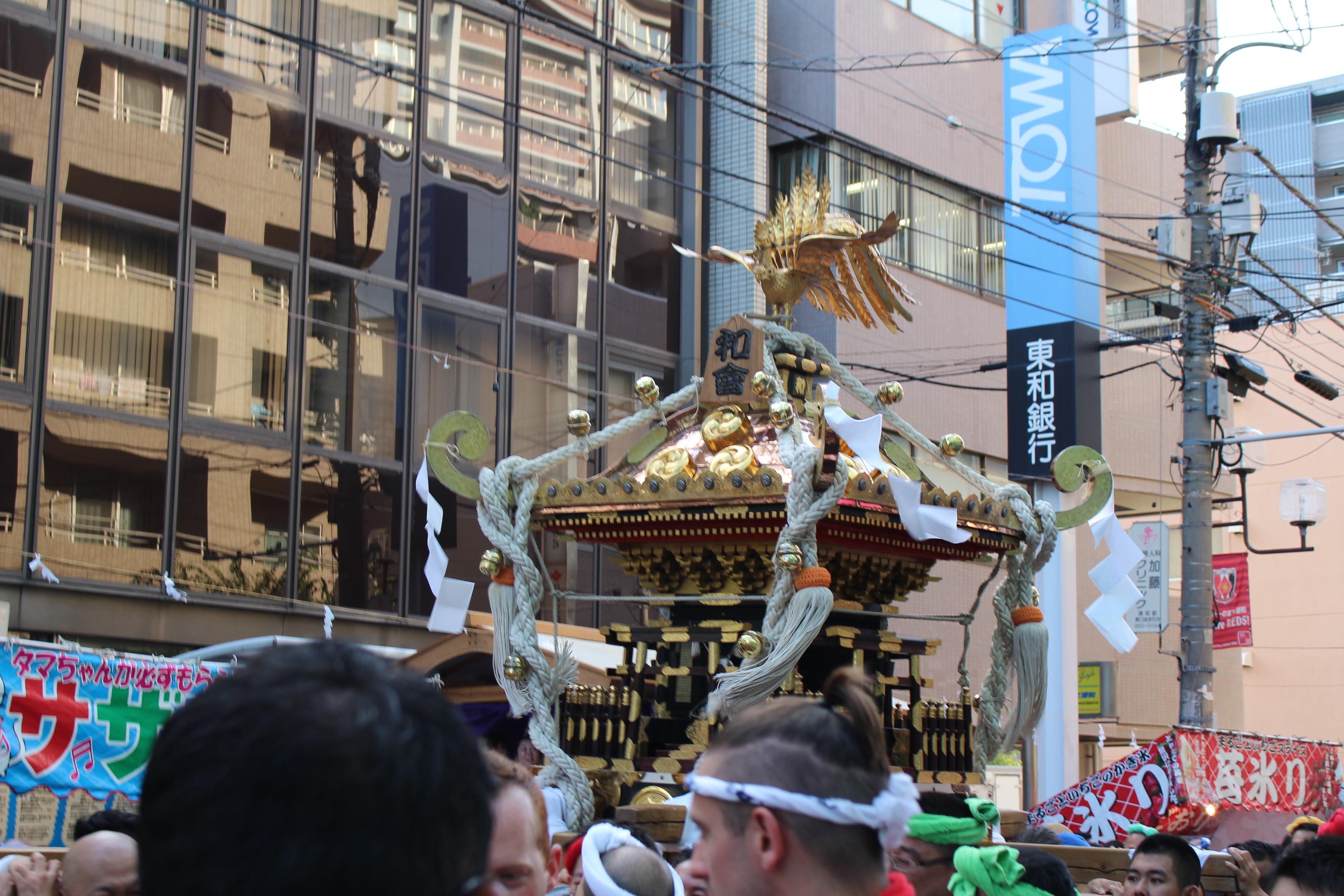 和曾のお神輿