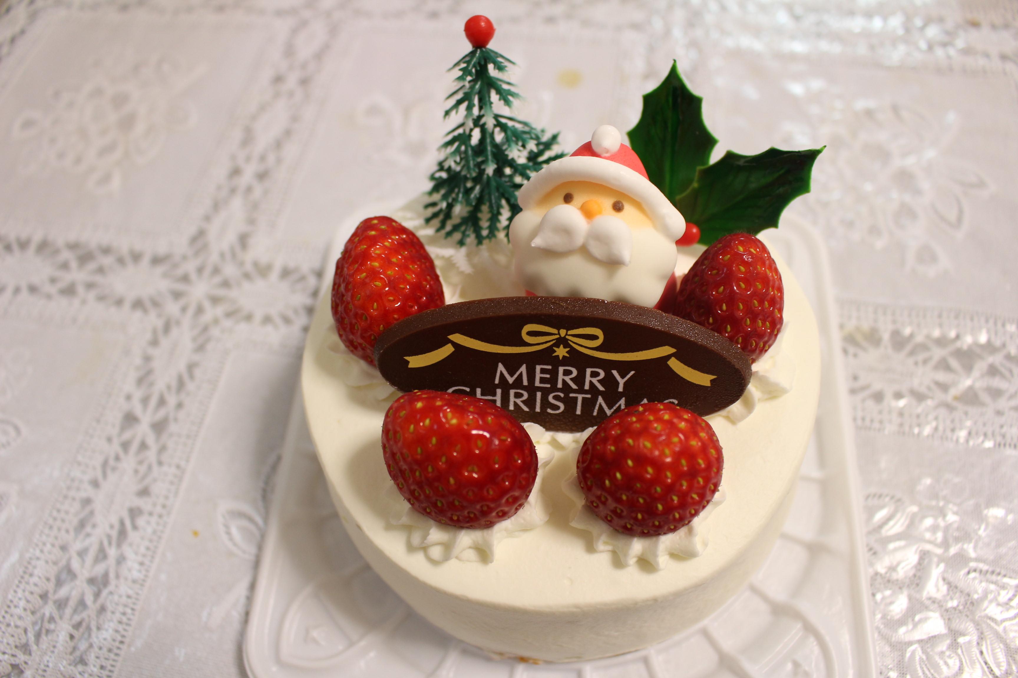 洋菓子KAZUのクリスマスケーキ