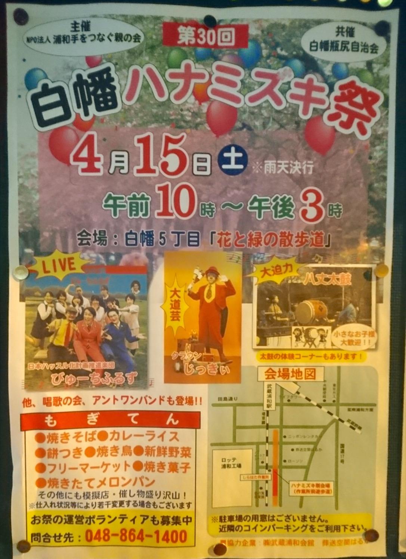第30回白幡ハナミズキ祭